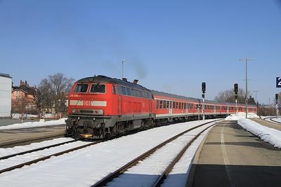 Austrian & German Railways, 24th February-3rd March 2013