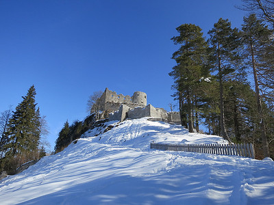 approaching Ehrenberg ruins - 02/03/13.