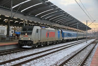 Railpool 5 170 019, Katowice, KS-40026 1616 to Częstochowa - 08/02/13.