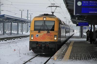PKP 5 370 009 arr Warszawa Zachodnia, I-71011 1901 Amsterdam C.S.-Warszawa Wschodnia - 08/02/13.