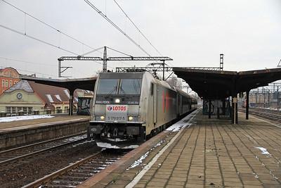 Railpool 5 170 017, Chorzów Batory, KS-44413 1440 Katowice-Kłobuck - 08/02/13.
