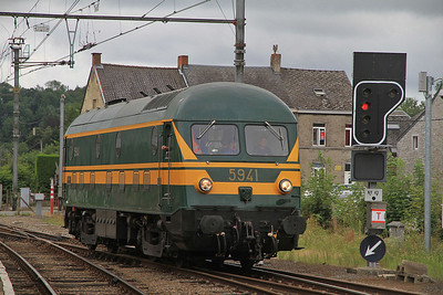 PFT 5941, Ciney, running round  - 17/08/13.