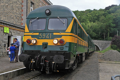 PFT 5941, Spontin, 5310 09.15 to Ciney  - 17/08/13.