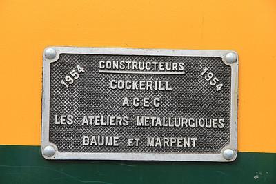 PFT 5941's worksplate  - 17/08/13.