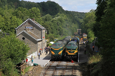 Belgian & Luxembourgish Railways, 17th-19th August 2013