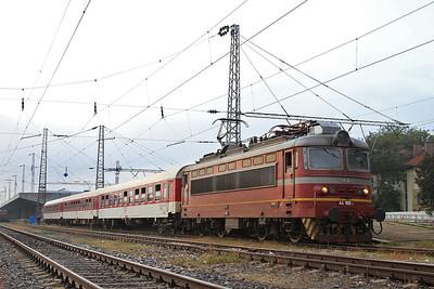 BDŽ 44100, Sofia, MBV1361 PTG 'Rail Wonders of Northern Greece' Day 1 - 14/09/14.