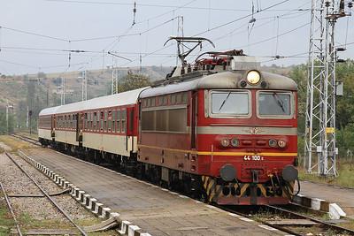 BDŽ 44100, Strumiani, MBV1361 PTG 'Rail Wonders of Northern Greece' Day 1 - 14/09/14.
