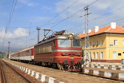 BDŽ 44100, General Todorov, MBV1361 PTG 'Rail Wonders of Northern Greece' Day 1 - 14/09/14.