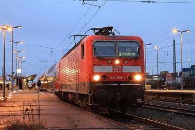 DB 143359, Hof Hbf, RE4773 16.27 to Dresden - 06/12/14.