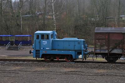 ex-Chemnitzer Maschienenfabrik GmbH, Ermafa Werklok No.1, Chemntiz Hilbersdorf museum - 06/12/14.