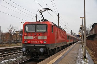 DB 143276, Glückstadt, RB21168 13.45 Hamburg Altona-Itzehoe - 01/02/14.