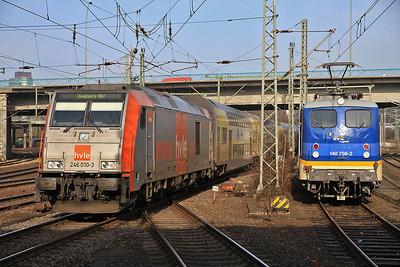 German Railways , 1st-4th Feb 2014