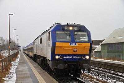 Veola 251008, Langenhorn, NOB81708 09.33 Hamburg Altona-Westerland (Sylt) - 01/02/14.