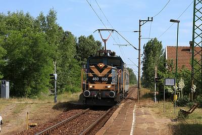 MÁV 460035 arr Őszeszék, 7125 15.11 Szeged-Kiskunfélegyháza - 28/06/14.