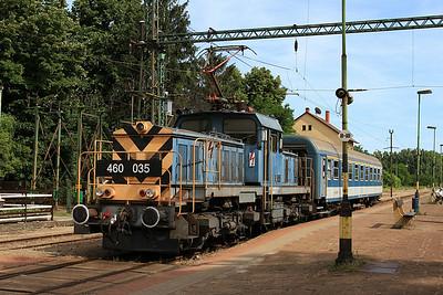MÁV 460035, Kistelek, 7125 15.11 Szeged-Kiskunfélegyháza - 28/06/14.