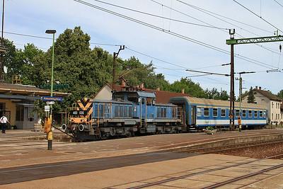 MÁV 460035, Kiskunfélegyháza, 7125 15.11 ex Szeged - 28/06/14.