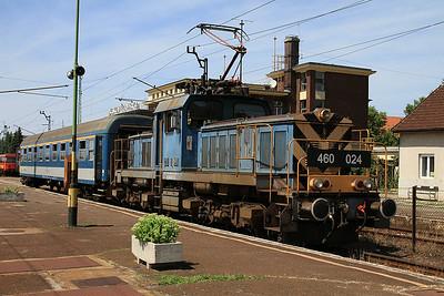 MÁV 460024, Kiskunfélegyháza, 7124 14.36 to Szeged - 28/06/14.
