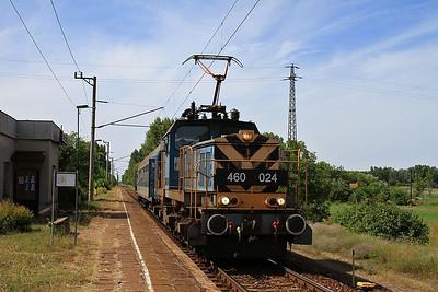 MÁV 460024, Őszeszék, 7124 14.36 Kiskunfélegyháza-Szeged - 28/06/14.