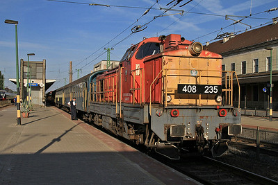 MÁV 408235, Győr, 1987 06.58 to Siofok - 29/06/14.
