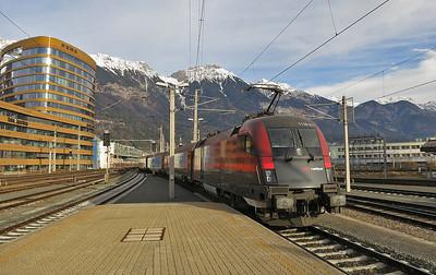 Austrian & German Railways, 3rd - 6th January 2014