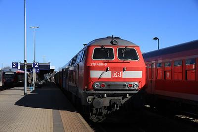 DB 218486, Buchloe, RE57507 10.06 Füssen-München - 24/02/14.