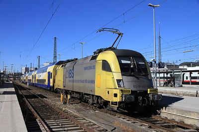 Austrian & German Railways, 24th Feb 2014