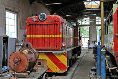 PGTKW Lyd2 04 in the workshop at Piaseczno Miasto - 08/08/14.