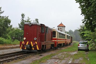 PGTKW Lxd2 465, Tarczyn, 10.00 ex Piaseczno Miasto - 08/08/14.