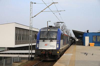 PKP 5 370 008, Warszawa Wschodnia, I-1404/5 14.02 to Bielsko Biała - 08/03/14.