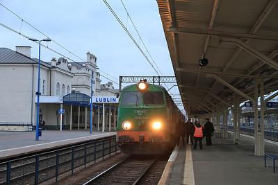 PKP SU45 246, Lublin, IC53109 11.08 Bydgoszcz-Przemyśl - 08/03/14.