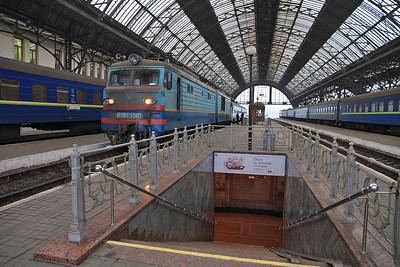 UZ VL10 1310, Lviv, 51 03.56 ex Przemyśl - 09/03/14.