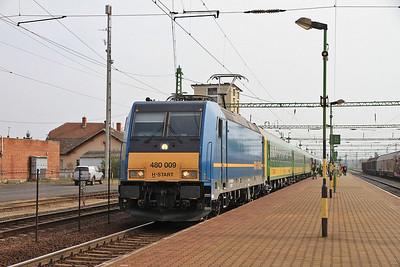 MÁV 480009, Csorna, IC912 08.10 Budapest Keleti-Sopron / Szombathely  - 05/04/14.