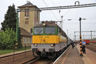 GYSEV 430333, Sárvár, 9025 11.07 Szombathely-Veszprem  - 05/04/14.