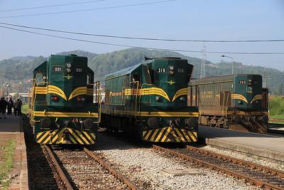 Bosnian, Croatian, Hungarian & Serbian Railways, 4th-13th April 2014