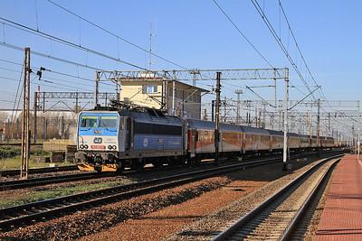 ČD 163042, Warszawa Praga, ECS for IR18122/3 14.43 Warszawa Wschodnia-Szczecin - 24/10/14.