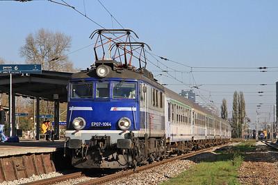 PKP EP07 1064, Warszawa Zachodnia, TLK16111 12.51 Warszawa Wschodnia-Wrocław - 24/10/14.