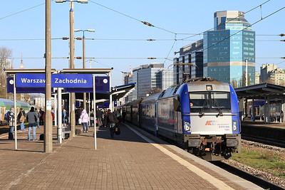 PKP 5370 009, Warszawa Zachodnia, EIC1405 14.29 Warszawa Wschodnia-Bielsko Biała - 24/10/14.