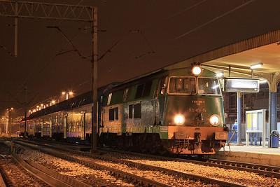 PKP SU45115, Gniezno, Turkol Charter 'Skansen' ; 75105 05.30 Poznań-Kościerzyna - 25/10/14.