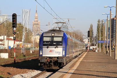 PKP 5370 005 arr Warszawa Zachodnia, EC42 14.39 Warszawa Wschodnia-Berlin Hbf - 24/10/14.