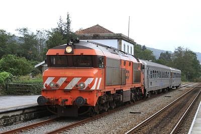 CP 1909, Vila Nova de Cerveira, 20511 PTG 'Portugal Diesel Farewell 2014' Day 1 - 18/10/14.