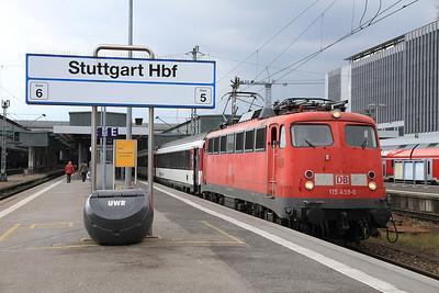 Swiss & German Railways,  22nd-24th March 2014