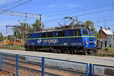 PKP Cargo EU07 1516, Pszczyna - 17/09/15.