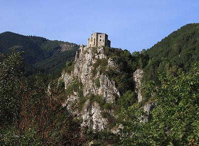 Strečno fortress, between Žilina and Vrútky - 18/09/15.