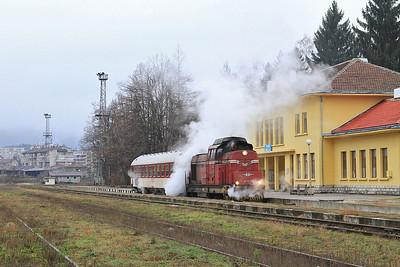 Romanian & Bulgarian Railways, 21st-29th November 2015