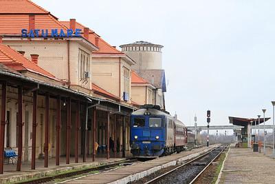 CFR 62-0741, Satu Mare, 4342 11.25 to Valea Lui Mihai - 22/11/15.
