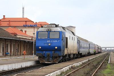 CFR 65-1125, Satu Mare, 4090 09.46 ex Baia Mare - 22/11/15.