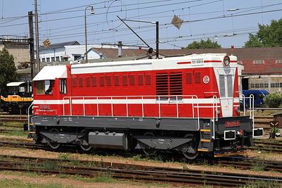ZSSK 721030, Nové Zámky, Station Pilot - 29/05/15.