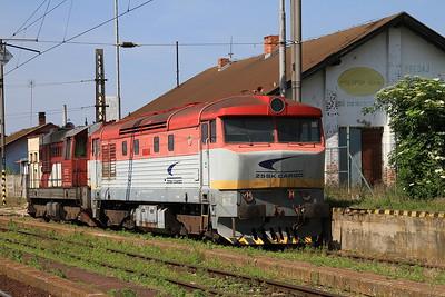 ZSSKC 751115 & LTS 742112 stabled at Šurany - 29/05/15.