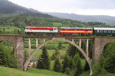 Czech & Slovakian Railways, 2015 SSA Grumpy tour, 29th May-5th June 2015