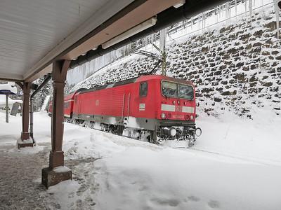 DB 143042, Seebrugg, RB26930 1039 to Freiburg(Brsg) - 02/02/15.